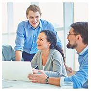 Подобрать мотивированную на работу команду продажников во главе с руководителем