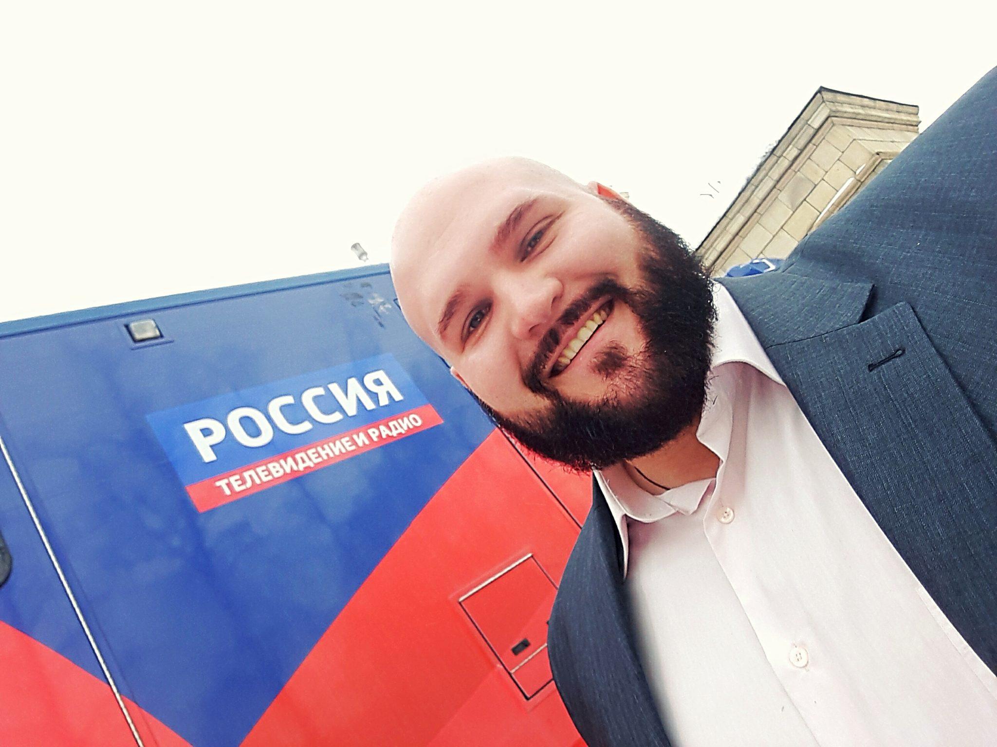 Выступление Спартака Андриешина на канале Россия в Прямой эфир