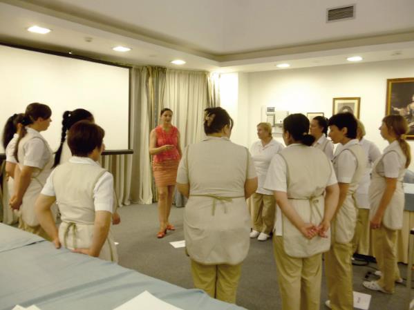 Тренинг для персонала отелей и гостиниц