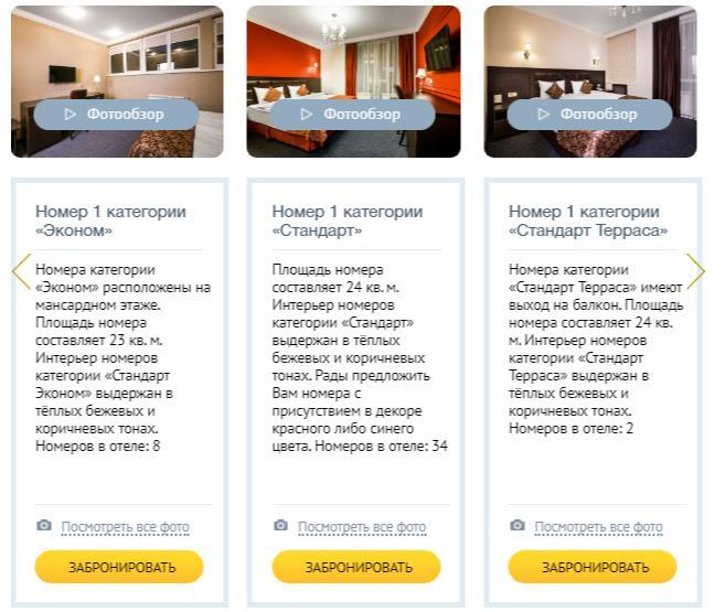 пример развития гостиничного комплекса